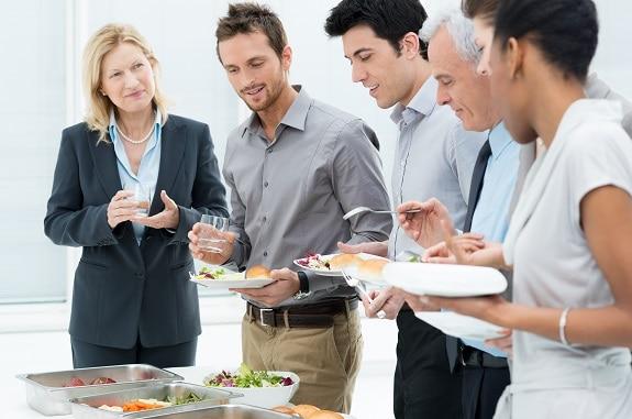 Corporate Catering Dublin Buffet Meal